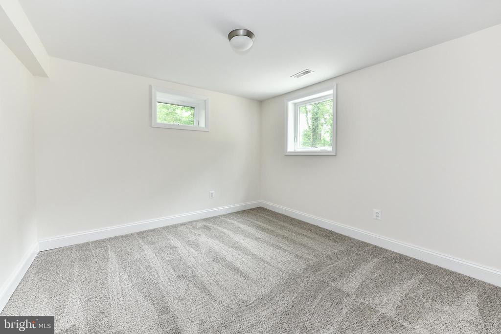 Bedroom #6 has large full egress window! - 5201 MOUNT VERNON MEMORIAL HWY, ALEXANDRIA