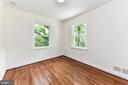 Bedroom #2 (on the main floor) - 5201 MOUNT VERNON MEMORIAL HWY, ALEXANDRIA