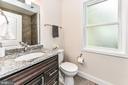 Lovely custom finishes in upstairs bathroom - 5201 MOUNT VERNON MEMORIAL HWY, ALEXANDRIA