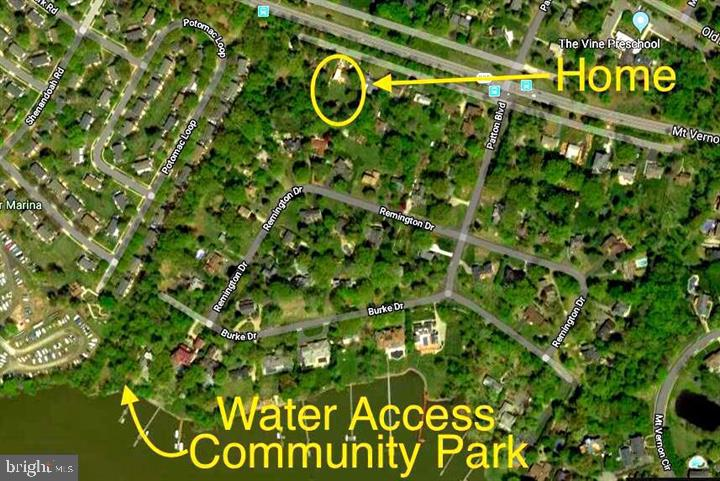 Look how close you are to the water!! - 5201 MOUNT VERNON MEMORIAL HWY, ALEXANDRIA