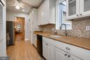 View of Kitchen Facing Living Room - 1011 I ST SE, WASHINGTON