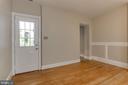 Unit 2 Entry and Living Room - 1011 I ST SE, WASHINGTON