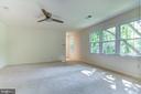 Master bedroom - 3402 LYRAC ST, OAKTON