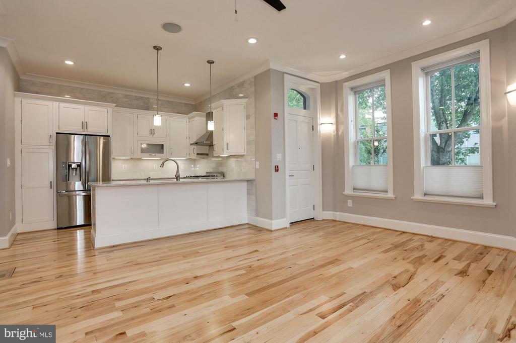 Kitchen/Living & Dining - 1235 S ST NW #1, WASHINGTON