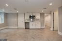Lower Level Bedroom/ Family Room - 1235 S ST NW #1, WASHINGTON
