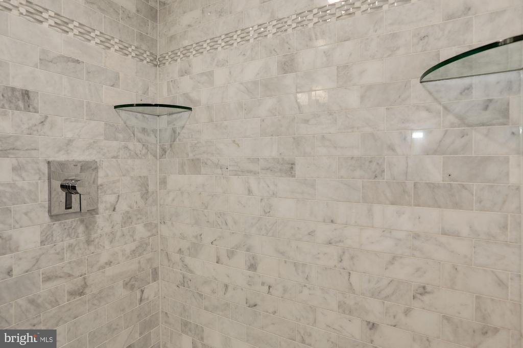 Lower Level Bathroom Shower - 1235 S ST NW #1, WASHINGTON
