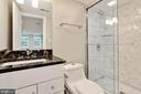 Lower Level Bathroom - 1235 S ST NW #1, WASHINGTON