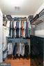 master closet #2 - 25327 JUSTICE DR, CHANTILLY