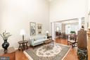 large living room - 25327 JUSTICE DR, CHANTILLY
