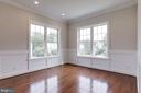 Two-toned interior with calming color scheme. - 2054 ARCH DR, FALLS CHURCH