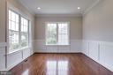 Dining room filled with light. - 2054 ARCH DR, FALLS CHURCH