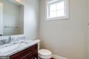Half bathroom. - 2054 ARCH DR, FALLS CHURCH