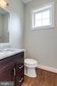 Full view of half bathroom. - 2054 ARCH DR, FALLS CHURCH