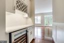Full buter's pantry off kitchen. - 2054 ARCH DR, FALLS CHURCH