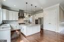 Gourmet kitchen showing large walk-in pantry. - 2054 ARCH DR, FALLS CHURCH