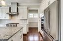 Quart counters and double wide stainless steel. - 2054 ARCH DR, FALLS CHURCH
