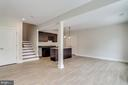 View leading to lower level. - 2054 ARCH DR, FALLS CHURCH