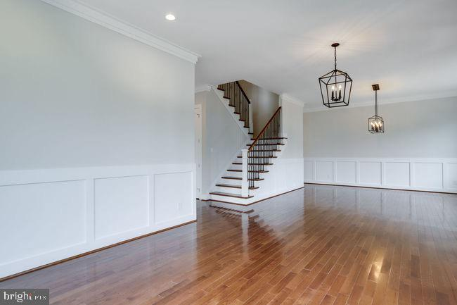 Open formal living and dining rooms. - 2054 ARCH DR, FALLS CHURCH