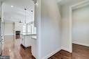 Kitchen leading to mudroom. - 2054 ARCH DR, FALLS CHURCH