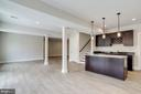Lower level wet bar. - 2054 ARCH DR, FALLS CHURCH