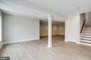 Lower level view. - 2054 ARCH DR, FALLS CHURCH