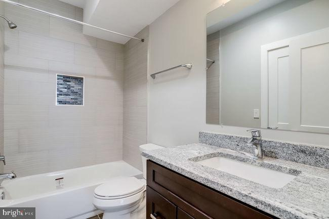 Lower level full bathroom. - 2054 ARCH DR, FALLS CHURCH