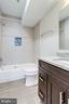 View of lower level bathroom. - 2054 ARCH DR, FALLS CHURCH