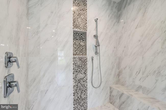Separate master shower. - 2054 ARCH DR, FALLS CHURCH