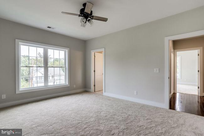Bedroom view showing window. - 2054 ARCH DR, FALLS CHURCH