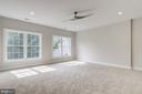 Bedroom view with double windows. - 2054 ARCH DR, FALLS CHURCH
