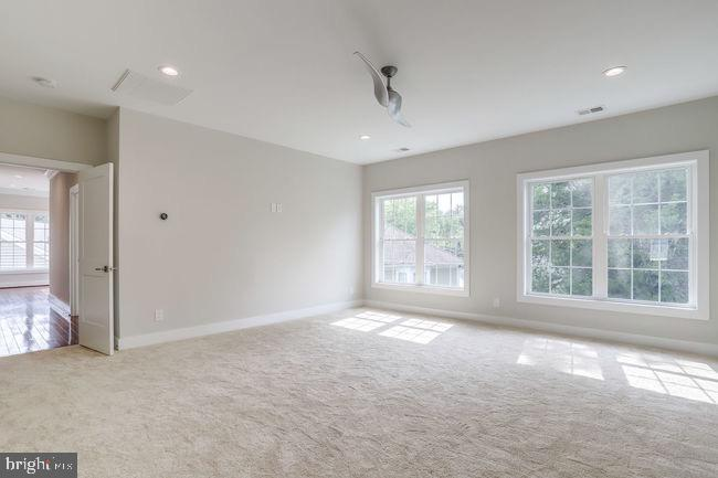 Bedroom view. - 2054 ARCH DR, FALLS CHURCH
