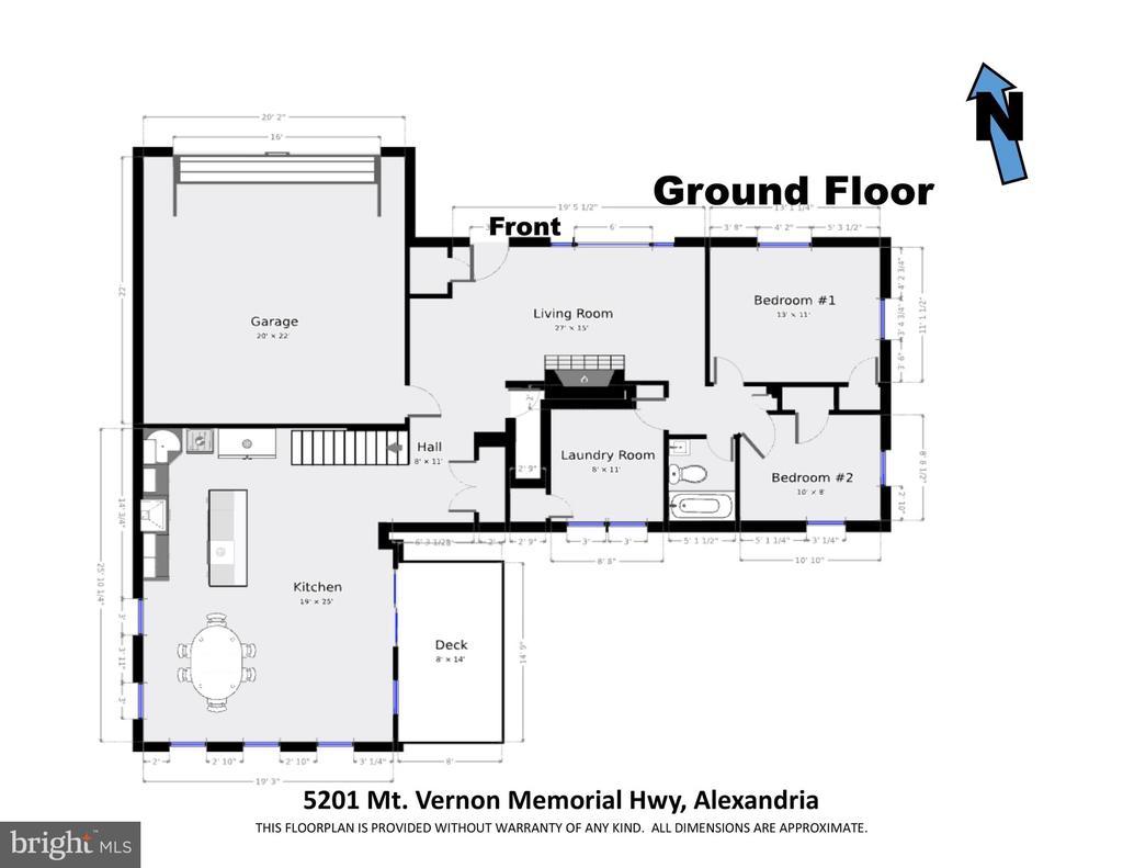 Main floor - 5201 MOUNT VERNON MEMORIAL HWY, ALEXANDRIA