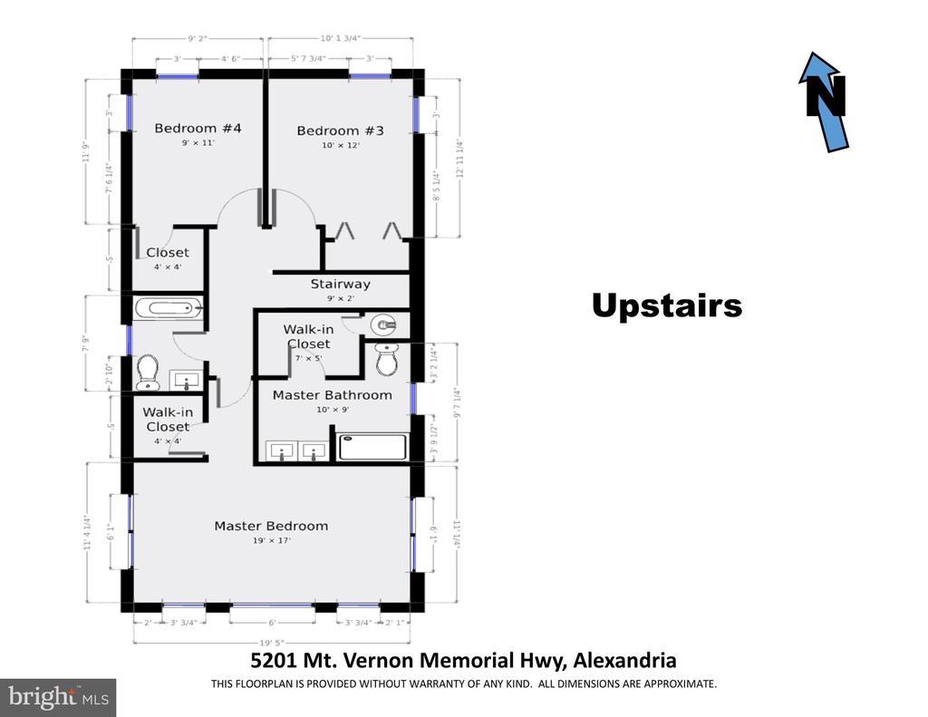 Upper level - 5201 MOUNT VERNON MEMORIAL HWY, ALEXANDRIA