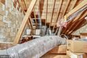 HUGE floored attic - 2848 S ABINGDON ST, ARLINGTON