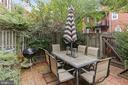 Serene & lush patio - 2848 S ABINGDON ST, ARLINGTON