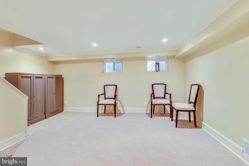 Recessed lighting & updated carpet - 2848 S ABINGDON ST, ARLINGTON