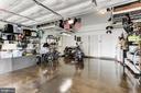 Garage: Insulated door, 2xheavy racks, designer FL - 23403 CARTERS MEADOW TERRACE #23403, ASHBURN