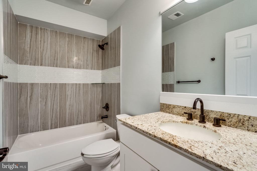 Basement bathroom - 7101 VELLEX LN, ANNANDALE