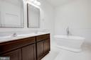 Beautiful free-standing tub with wainscotting! - 170 LITTLE WHIM, FREDERICKSBURG