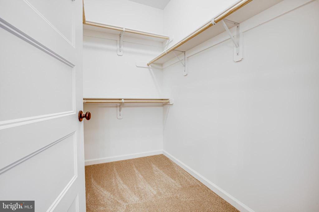 Master walk-in closet! - 170 LITTLE WHIM, FREDERICKSBURG