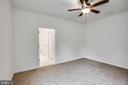 Large master bedroom! - 170 LITTLE WHIM, FREDERICKSBURG