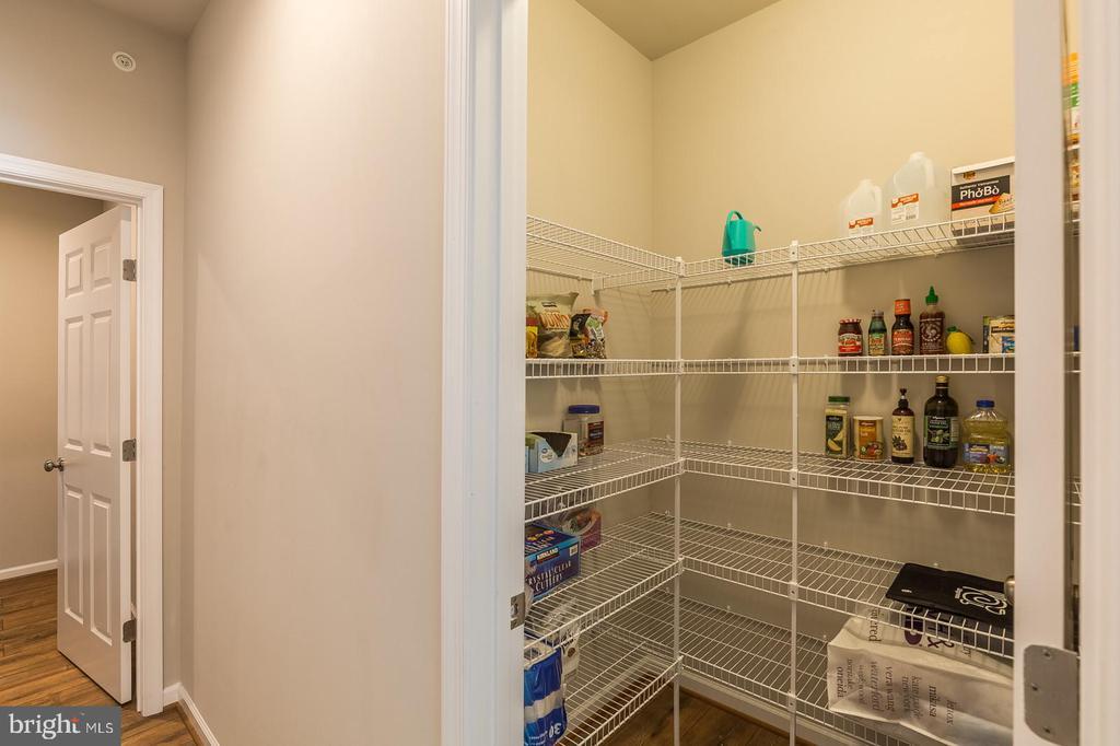 Huge walk-in  pantry - 17985 WOODS VIEW DR, DUMFRIES