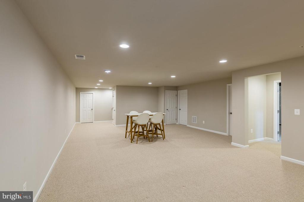 Notice all the recessed lighting - 17985 WOODS VIEW DR, DUMFRIES