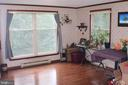 Dinning Room with lots of natural light - 7738 TALBOT RUN RD, MOUNT AIRY