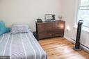 Bedroom 1 of 4 all with new hardwood floors - 7738 TALBOT RUN RD, MOUNT AIRY