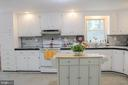 Renovated Very Large and Open Kitchen - 7738 TALBOT RUN RD, MOUNT AIRY