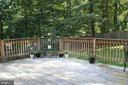 Large Back Deck - 7738 TALBOT RUN RD, MOUNT AIRY