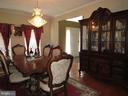 Formal Dining Room - 2763 MYRTLEWOOD DR, DUMFRIES