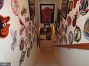 Stairs to Man cave Basement - 2763 MYRTLEWOOD DR, DUMFRIES