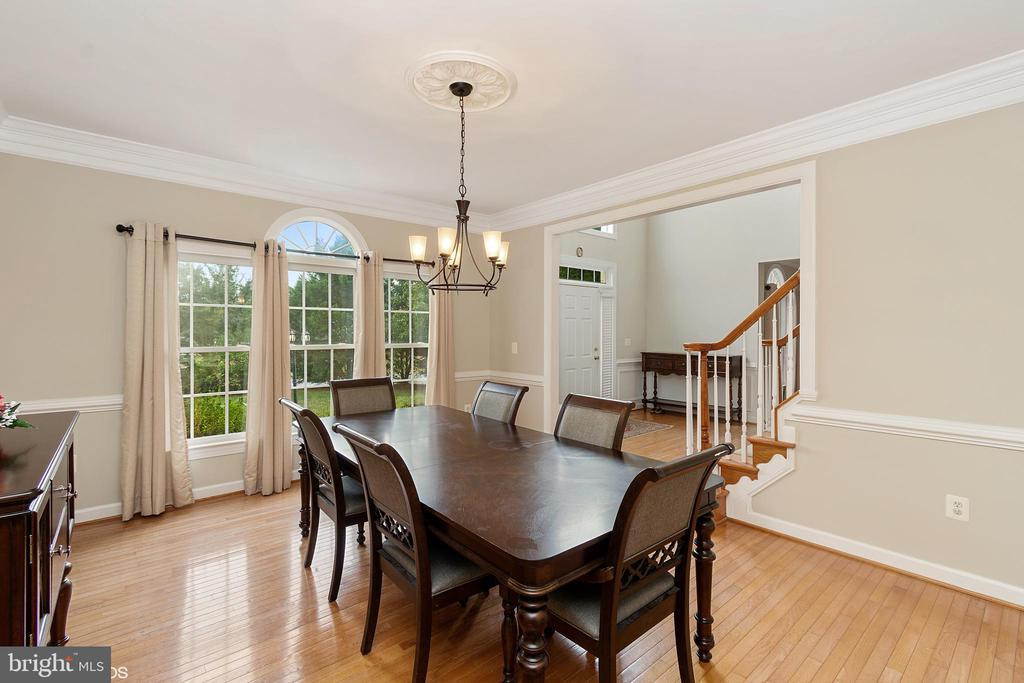 FORMAL DINING ROOM - 8900 GRIST MILL WOODS CT, ALEXANDRIA
